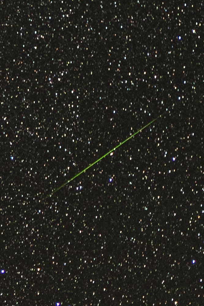 perseides single meteor