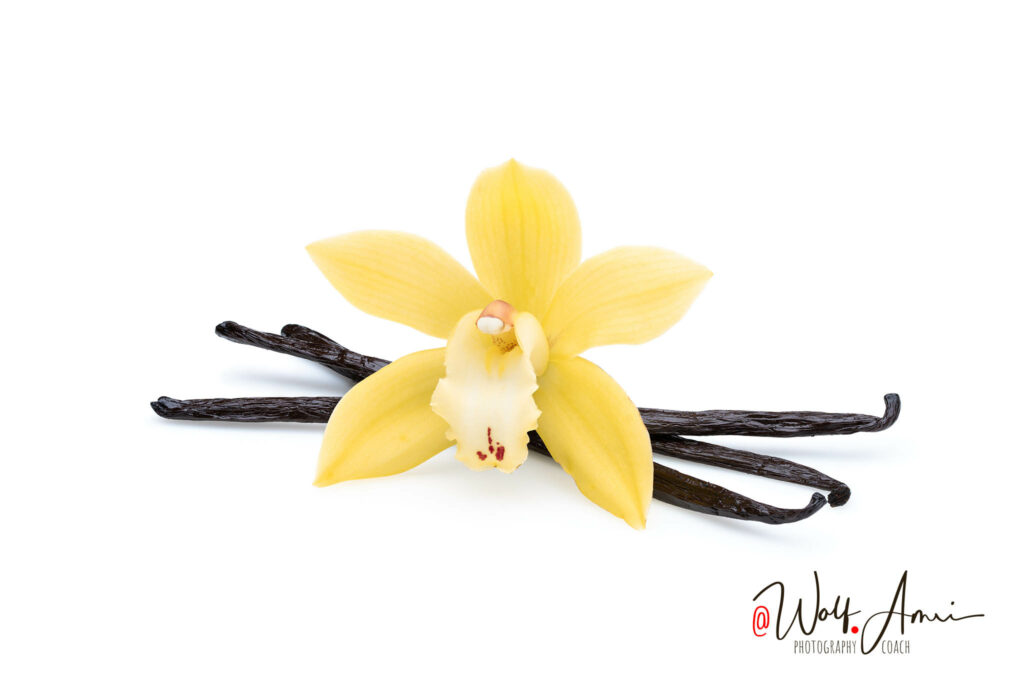 food and product photographs like this vanilla don't need a specific shutter speed